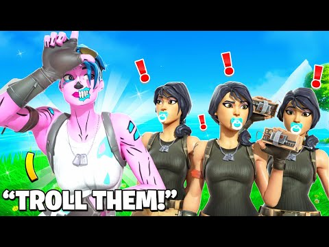 I STREAM SNIPED FASHION SHOWS WITH THE YOUNGEST SQUAD AND TROLLED! (hilarious)