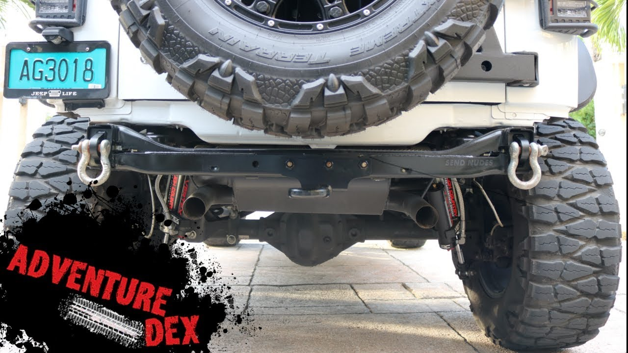 Jeep Jk Rear Bumper Delete Kit