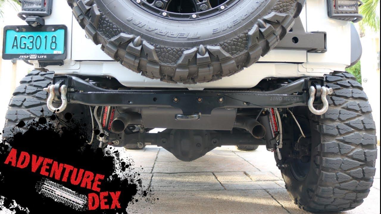 Jeep Jk Rear Bumper Delete Kit