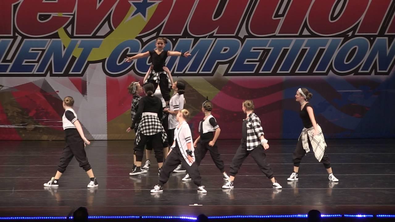 Lets Go - Junior Hip Hop Large Group - YouTube