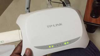 tP-LINK TL-MR3420 3G/4G Wireless N Router/TP-LINK TL-MR3420 unboxing and review