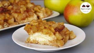 Никто не догадается, что эта ВКУСНЯТИНА из лаваша! Творожно яблочный десерт