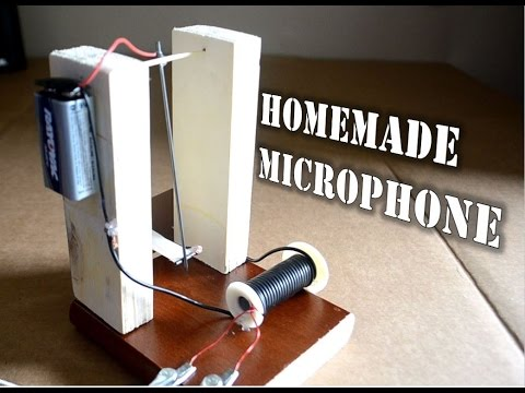 How to make a Microphone