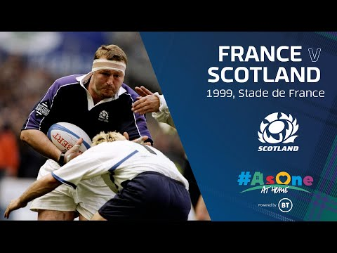 FULL MATCH REPLAY | France V Scotland | 1999