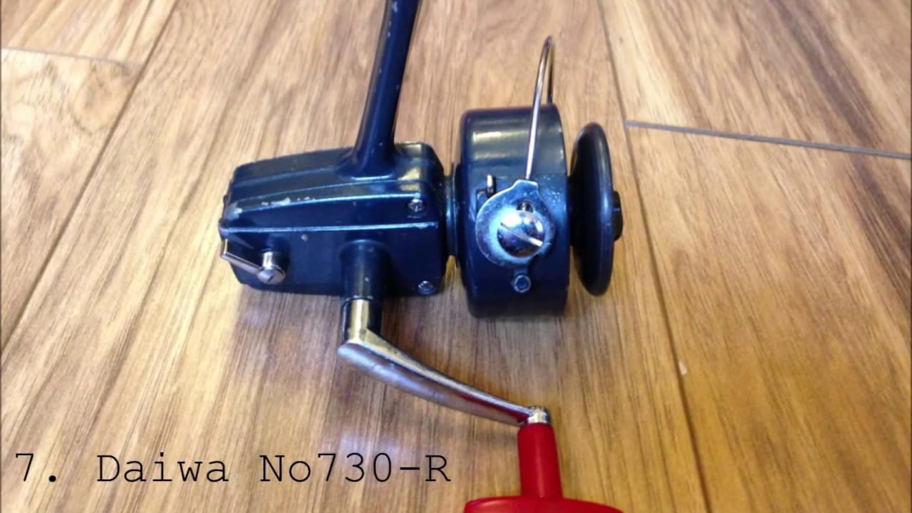 50 Vintage Fishing Reels