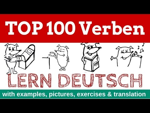 learn German: TOP 100 German Verbs