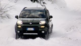 2013 Fiat Panda 4x4 - SNOW TEST