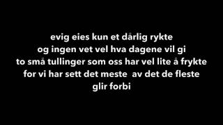Eva Weel Skram- Evig eies - lyrics (karaoke versjon)