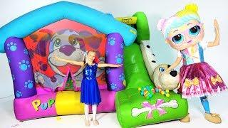 Una colección de nuevos videos de Super Polina. Nuevas muñecas L.O.L.