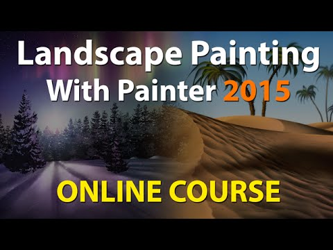 Landscape Painting with Painter 2015 – Corel Painter Online Course