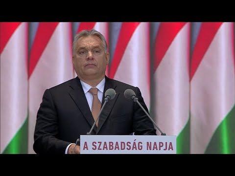 Orbán Viktor beszéde a forradalom kitörésének 62. évfordulóján - ECHO TV
