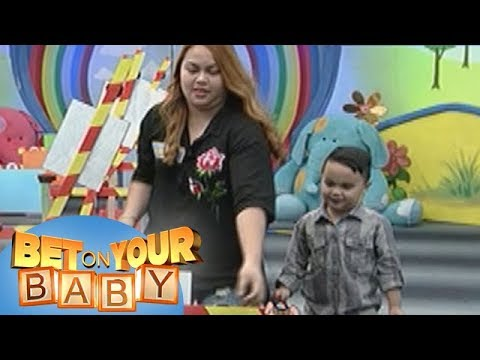 Bet On Your Baby: Baby Dome Challenge with Mommy Vina and Baby Arkin
