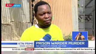 Prison warden murdered in Murang\'a