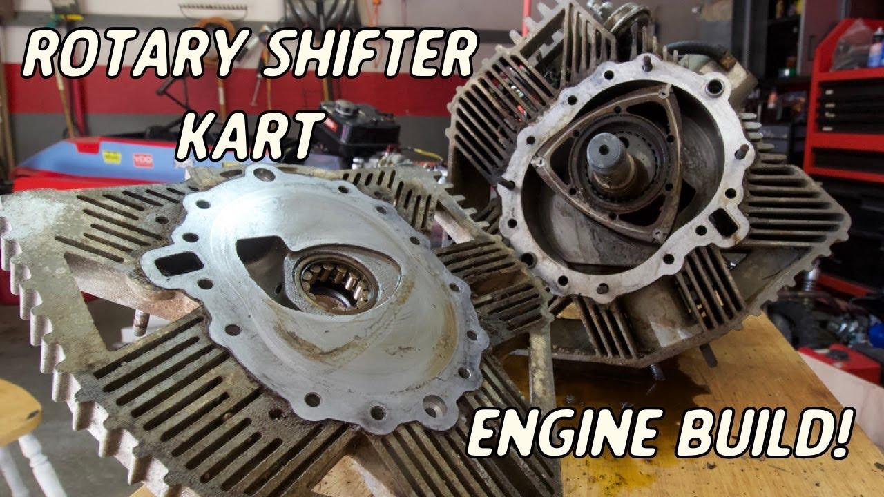 Ultra Rare Rotary Engine Rebuild | Rotary Shifter Go Kart Build Part 2