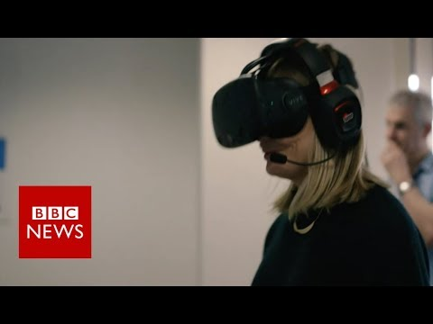 Could virtual reality help treat anxiety? - BBC News