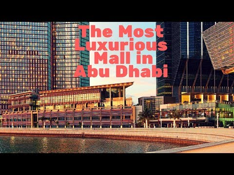 SHOPPING MALL | MOST LUXURIOUS MALL IN ABU DHABI | TRAVEL TRICKS