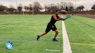 The Drill Factory: Hands Training - Sideline Toe Drag