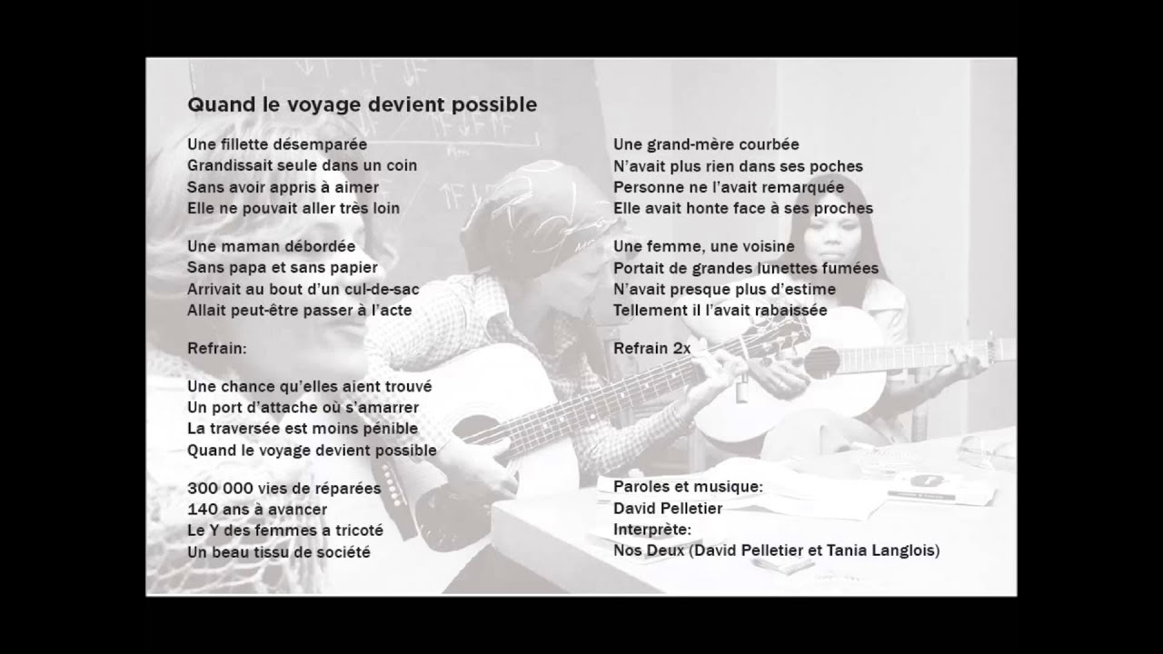 anniversaire chanson paroles