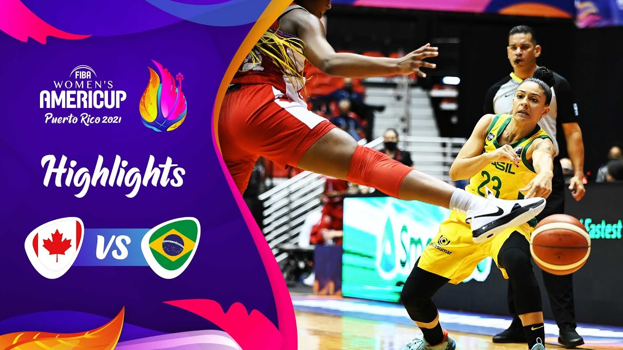 Canada - Brazil | 3rd Place Game | Highlights | FIBA Women's AmeriCup 2021