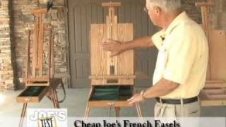 French Easels : Cheap Joe's Product Demonstration