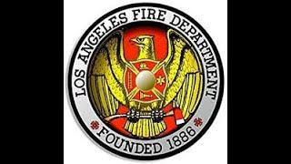 Audio MAYDAY declare multiple firefighters down Los Angeles 5/16/20