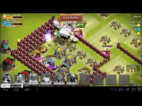 Castle Clash Random Raid Recorded #2