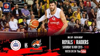 2019-20 BBL Cup, South Group: London City Royals v Plymouth Raiders - 16 Nov 2019