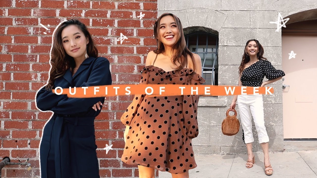 [VIDEO] – a week of outfits in september 🍂