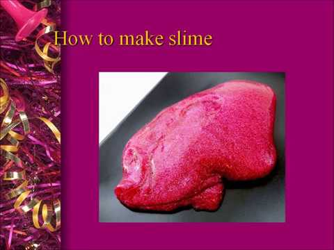 How to make slime by amatullah powerpoint youtube how to make slime by amatullah powerpoint ccuart Gallery