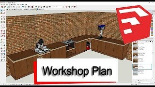 Future Workshop Plans - Walkthrough in Sketchup