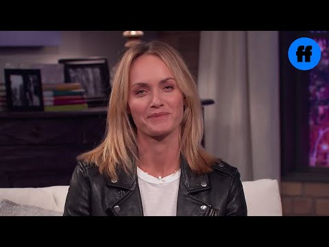 Amber Valletta   Movie Night with Karlie Kloss  Freeform