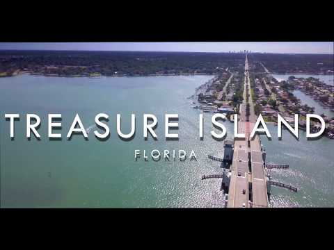 AMAZING DRONE VIDEO - Treasure Island, FL 4K - DJI Mavic Pro