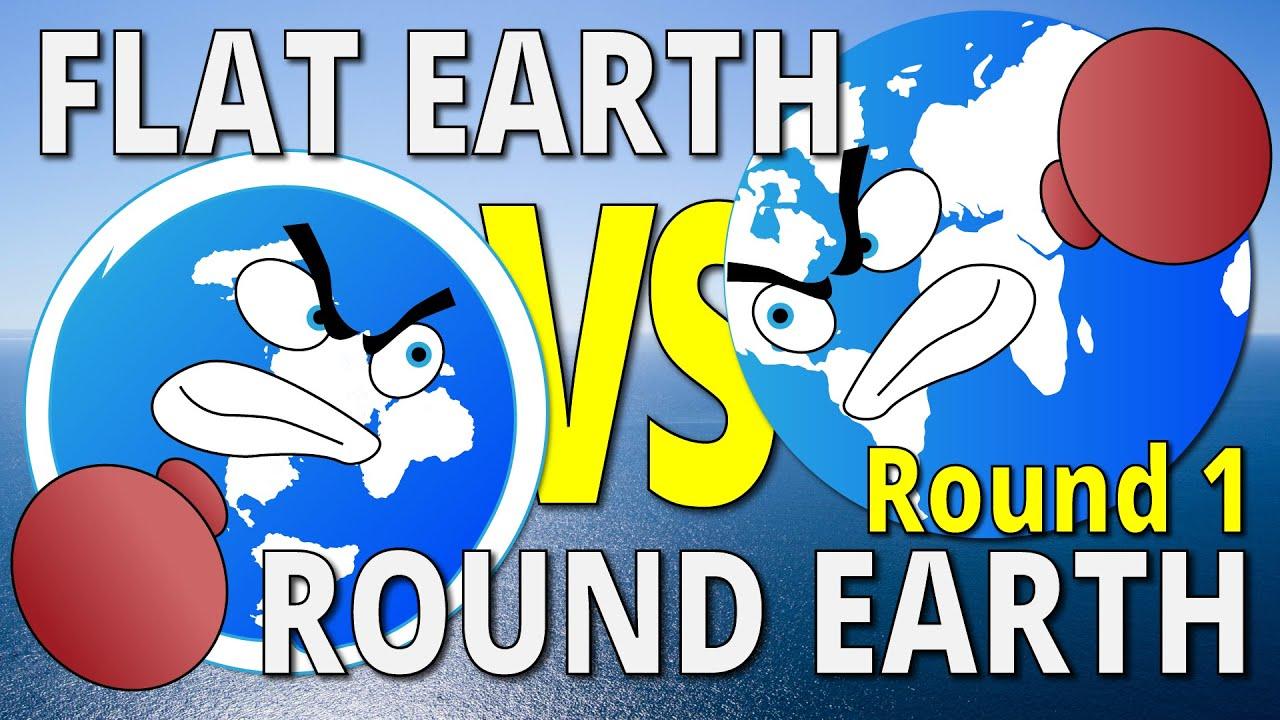 THE HORIZON | Flat Earth vs Round Earth - Round 1 - YouTube