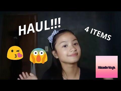 HAUL(4 ITEMS Lang) HAHAHAHA! Mahirap Tayo Ngayon Mga Teh!