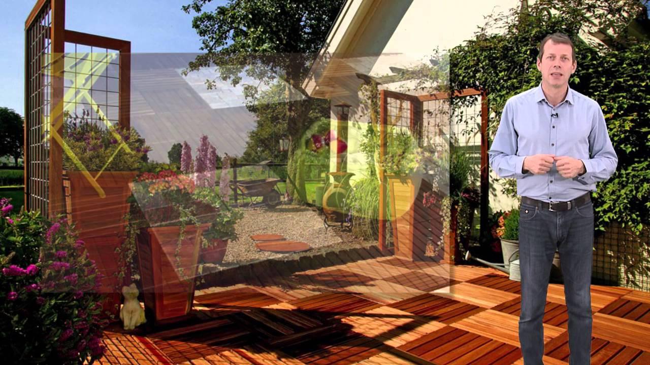 Dalle Bois Terrasse et Jardin - YouTube