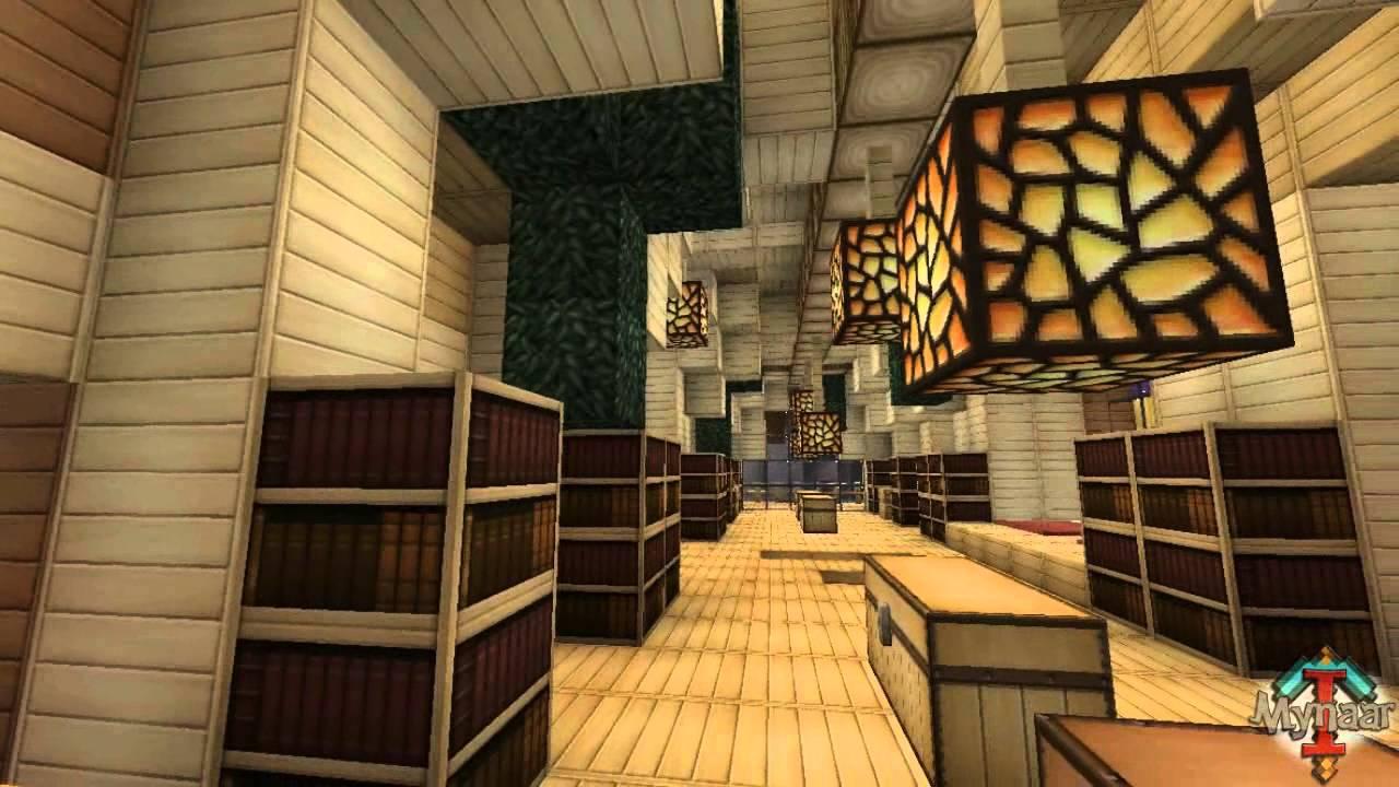 Minecraft Modern House Interior Design - OYWU DIANNE OCHOA ...