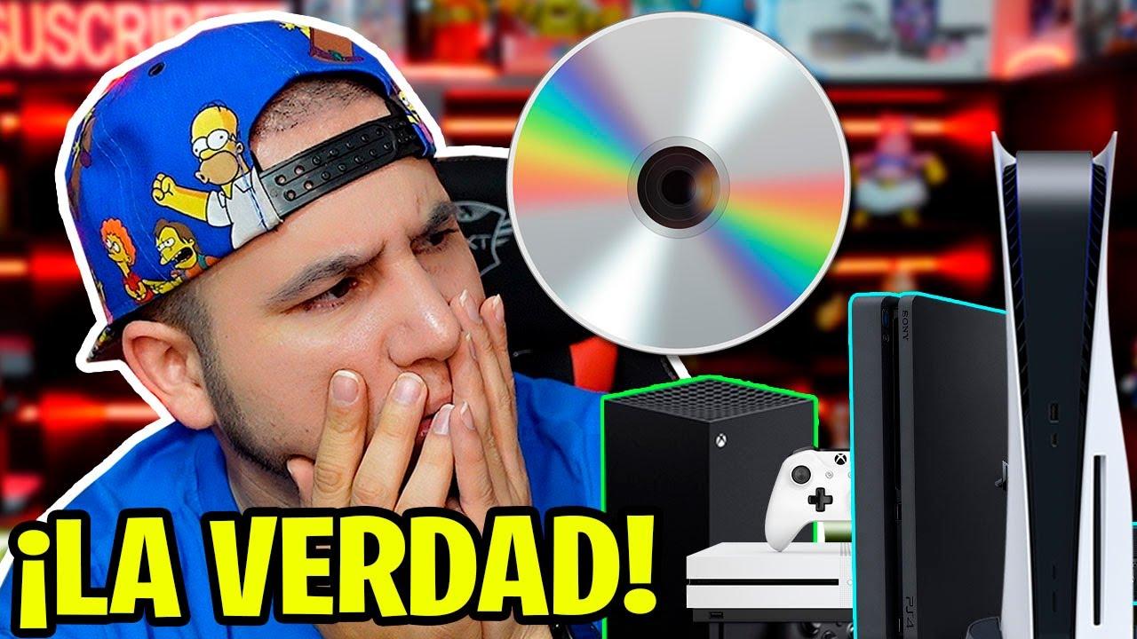 ¡LA VERDAD SOBRE LOS CD'S DE LOS JUEGOS Y LAS ACTUALIZACIONES EN NUESTRAS CONSOLAS DE VIDEOJUEGOS!