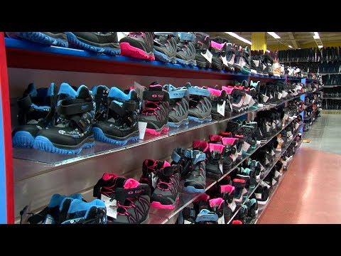 Новый магазин одежды и обуви Планета