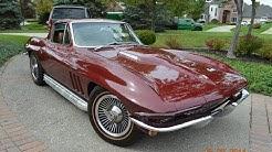 1966 Corvette 427 for sale car appraisal Fenton Michigan autoappraise.com