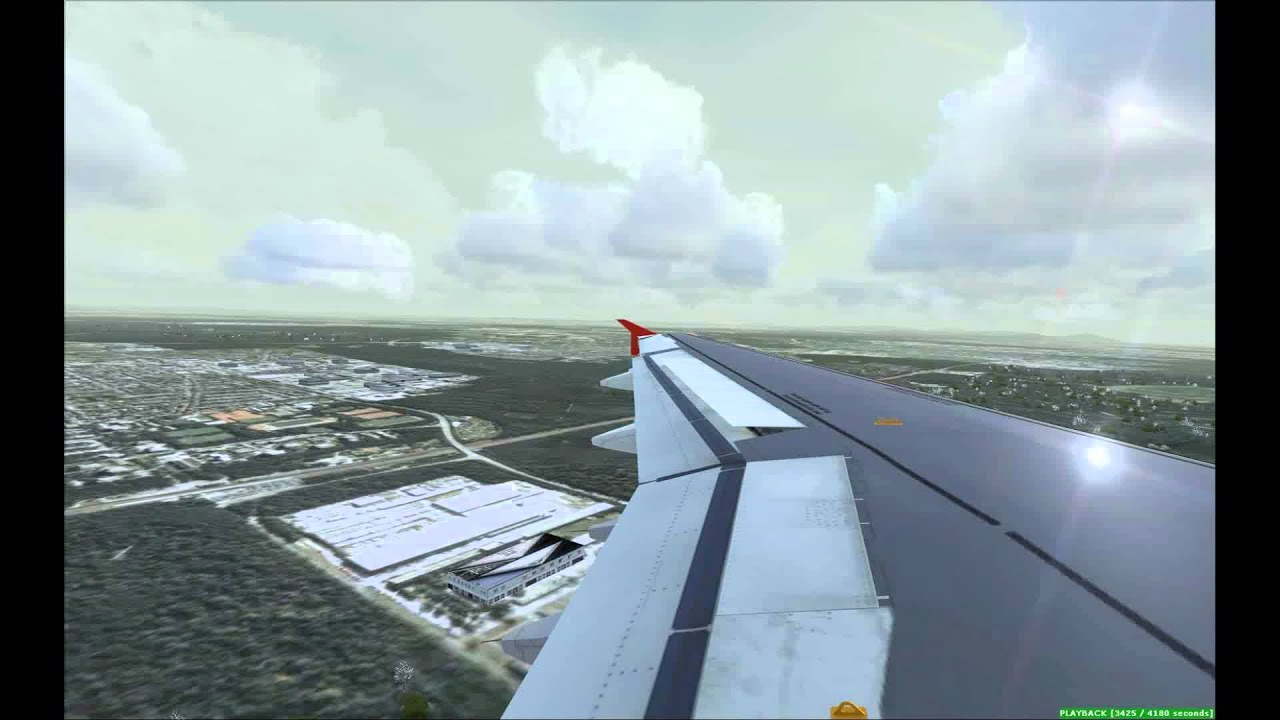 Landung Frankfurt