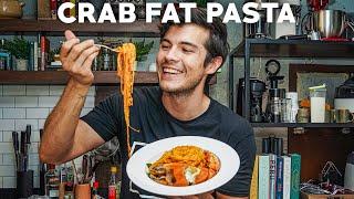 Loaded Crab Pasta (and 15 minute Pasta Recipes: Alfredo, Vodka Rigatoni)