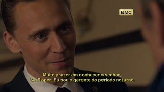 The night manager serie