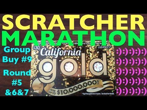 SCRATCHER MARATHON!!! Group Buy 9 Round 5 & 6 & 7