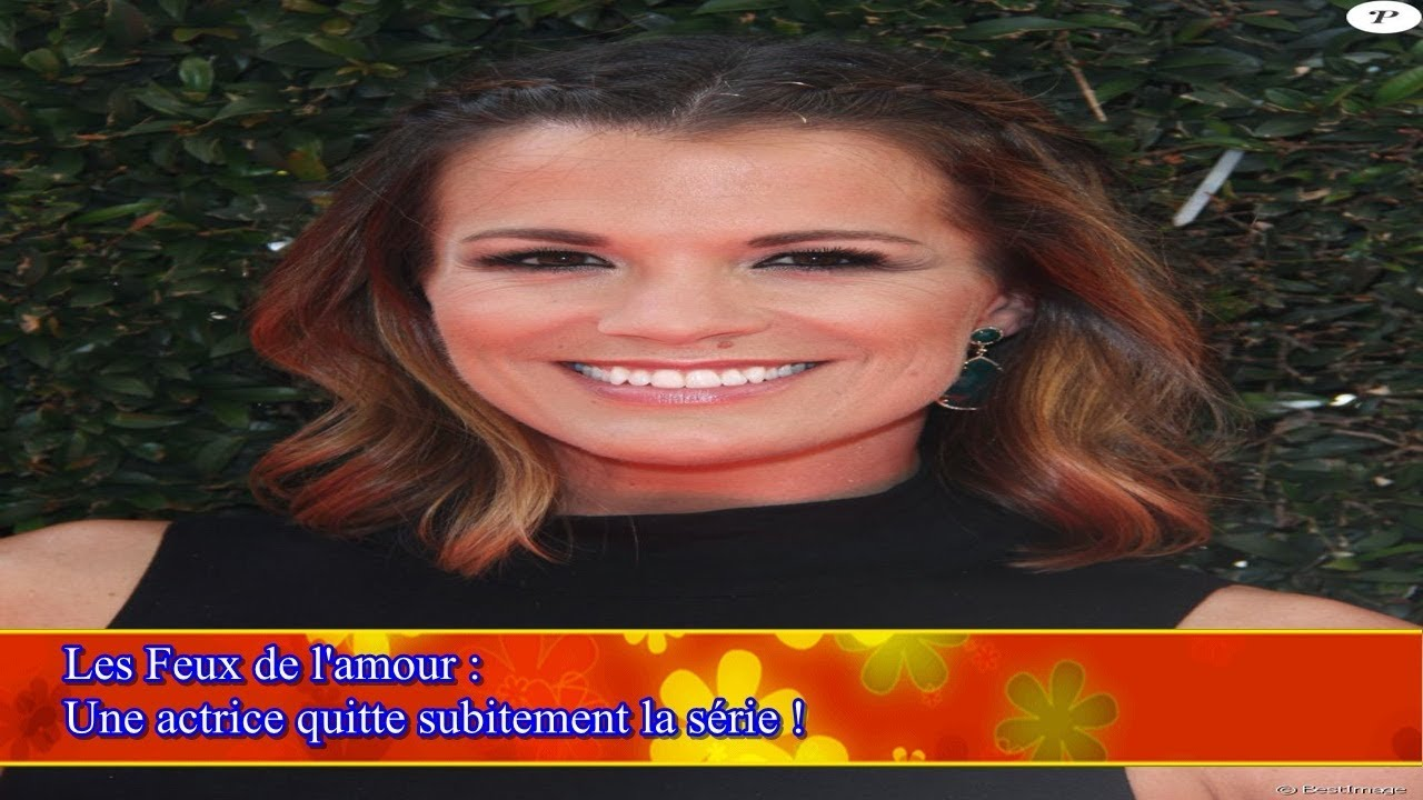 Calendrier Des Feux De L Amour 2019.Les Feux De L Amour Une Actrice Quitte Subitement La Serie