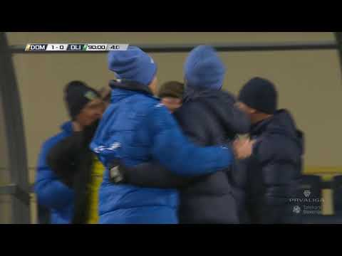 18. krog: Domžale  - Olimpija 1:0 ; Prva liga Telekom Slovenije 2017/18