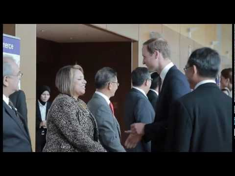 The Duke and Duchess of Cambridge visit to Kuala Lumpur Malaysia (Official video highlights)