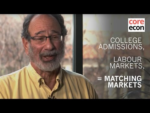 Alvin Roth: Matching markets