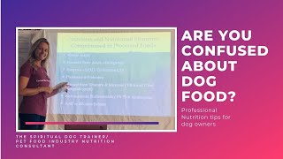 Why NO processed dog food is actually Complete! and what your dog really needs every day.