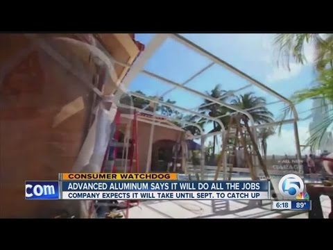 Advanced Aluminum of S. Florida works on 'The Vanilla Ice Project,' then gets behind on other jobs