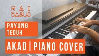 Video Payung Teduh - Akad Piano Cover download MP3, 3GP, MP4, WEBM, AVI, FLV Desember 2017